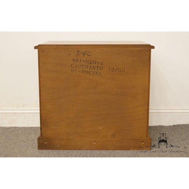 "Drexel Esperanto Collection Spanish Mediterranean 26"" Cabinet Nightstand 401-620 For Sale - Image 11 of 13"