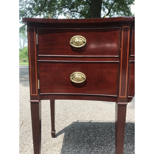 Late 20th Century Traditional Cherry Side Board by Kindel For Sale - Image 5 of 11