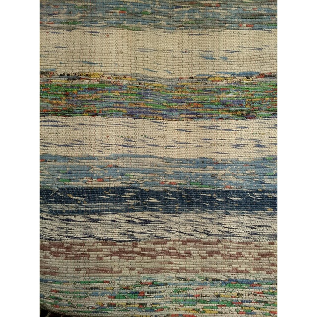 Contemporary 1950s Vintage Turkish Flat-Weave Kilim Rug - 2′6″ × 4′8″ For Sale - Image 3 of 9