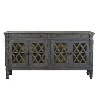 Rustic Lilliana Carved Sideboard For Sale
