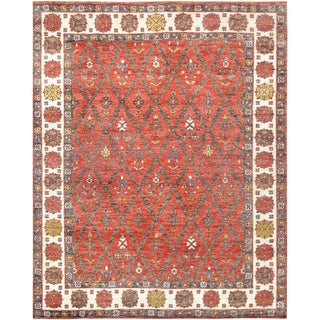 """Pasargad Nomad Collection Wool Rug - 7' 9"""" X 9'10"""""""