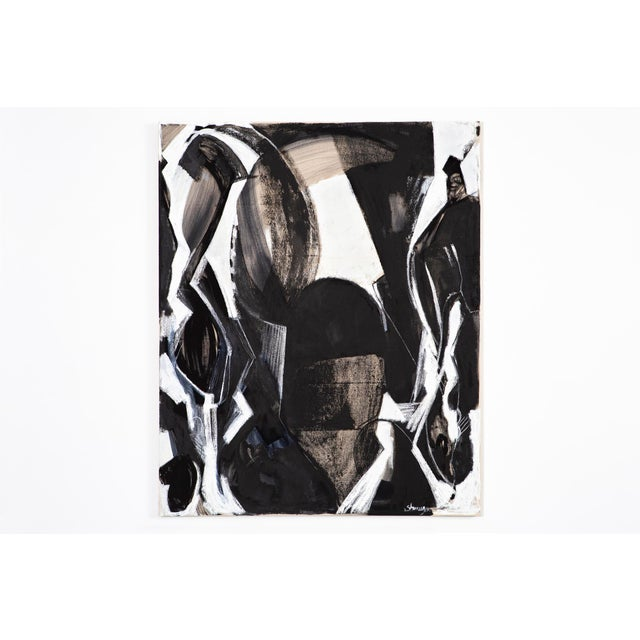 A life of painting shows through in Ted Stanuga's abstractions. Starting from a drawing, he goes through processes of...