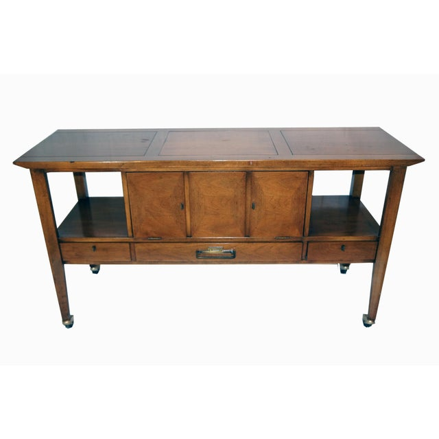 Mid-Century Modern Bar Cart - Image 2 of 8