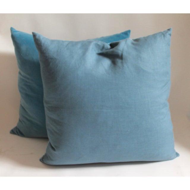 Velvet Pillows For Sale - Image 4 of 4