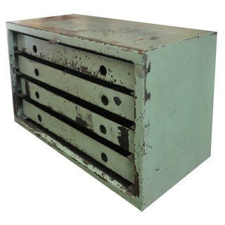 Vintage Industrial Mechanic's Chest For Sale