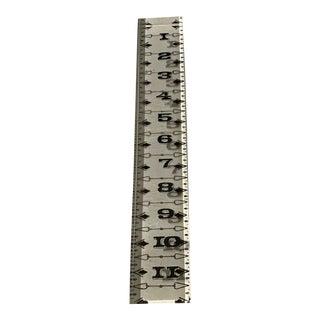 Vintage Lucite Ruler For Sale