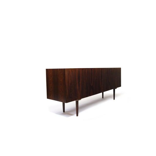 Arne Vodder for P. Olsen Sibast Mobler Rosewood Tambour Credenza Sideboard For Sale - Image 9 of 10