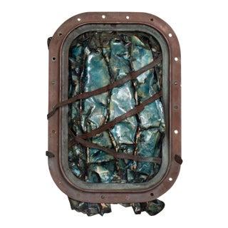Mid-Century California Modern Enamel in Copper by Joann Tanzer For Sale