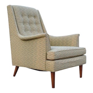 1960 Barney Flagg for Drexel Parallel Series Armchair For Sale