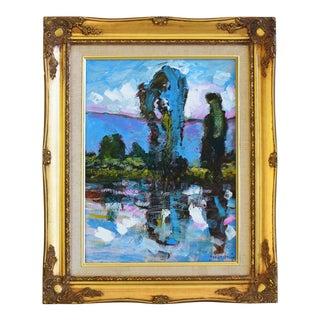 Original Juan Guzman Plein Air Landscape Painting For Sale