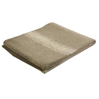 Italian Military Wool Blanket For Sale