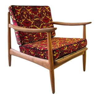 Late 20th Century Danish Arm Lounge Chair For Sale