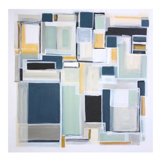 'Catalina' Original Abstract Painting by Linnea Heide