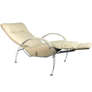 Percival Lafer Leather Billie Reclining Chair