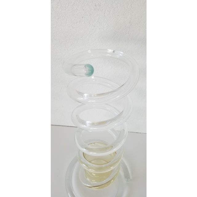 Dorothy Thorpe Attributed Lucite Umbrella Stand . For Sale - Image 9 of 11
