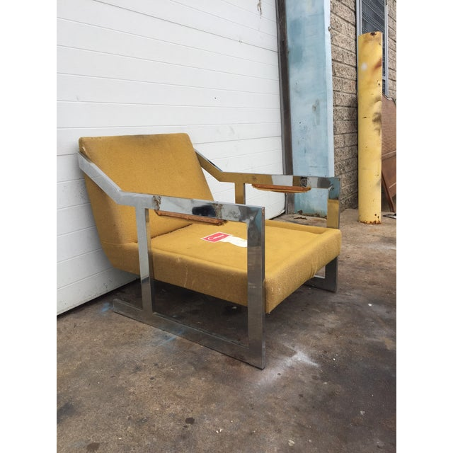 Bauhaus Mid-Century Chrome Carson Lounge Chair For Sale - Image 3 of 9
