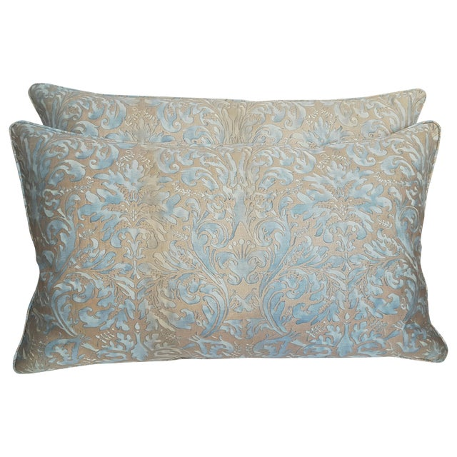 Mariano Fortuny Pillows - A Pair - Image 1 of 4