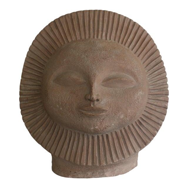 1968 Paul Bellardo Sun Face Sculpture - Image 1 of 7