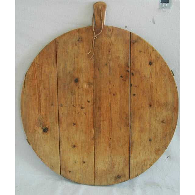 1920s Large French Harvest Bread Cheese Board For Sale - Image 4 of 6
