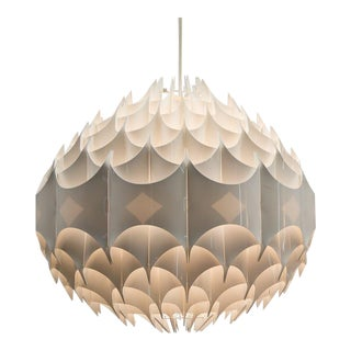 Final Markdown Space Age Vest Austria Rhythm Pendant Light Fixture For Sale