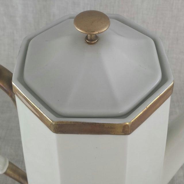 Geometric Octagonal Coffee Pot - Image 5 of 9