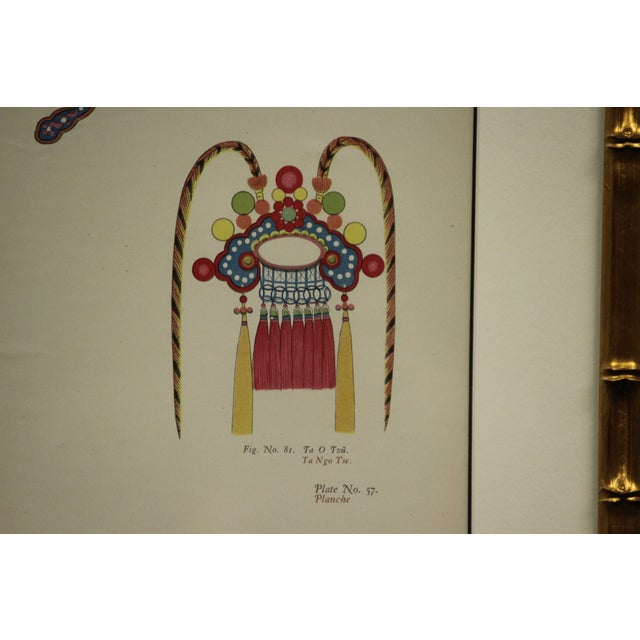 Chinese Headdress Color Painting For Sale In New York - Image 6 of 6