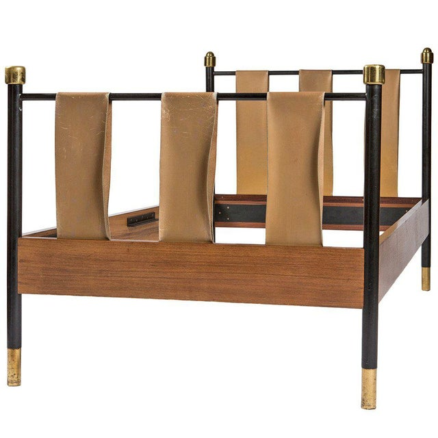 Italian Fifties Single Bed For Sale - Image 9 of 9