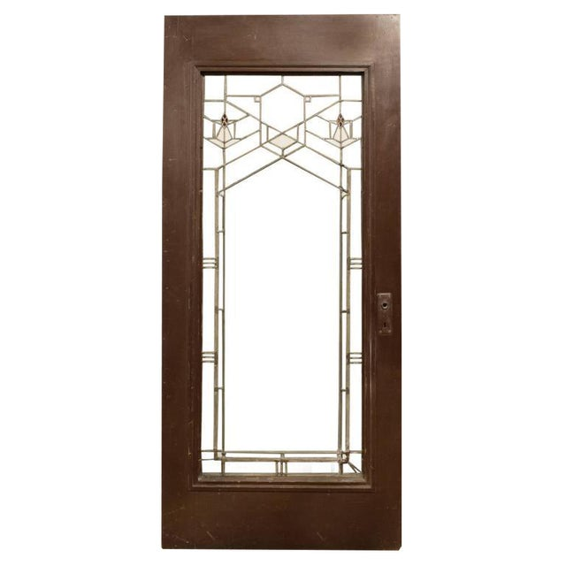 Frank Lloyd Wright Door from the Bradley House in Kankakee, IL, 1900 - Image 1 of 5