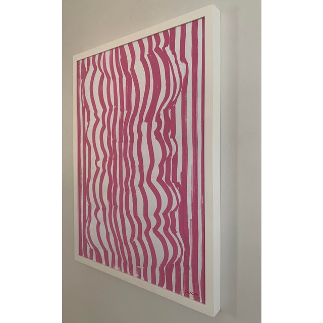 2010s 'Form Fitted' Contemporary Original Painting For Sale - Image 5 of 7