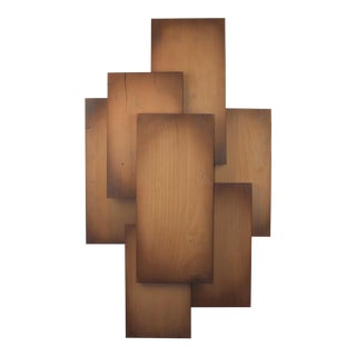 Cascade Reflections Wooden Wall Art For Sale
