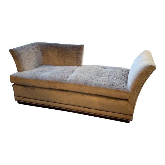 Modern Millington Vanguard Furniture Chaise For Sale