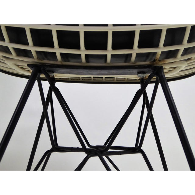 1950s Eames for Herman Miller DKR Bikini Chairs With Eiffel Base - a Pair For Sale - Image 9 of 13