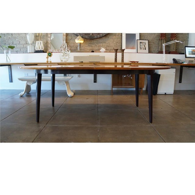 1950s 1950s Edward Wormley Dinning Table For Sale - Image 5 of 9