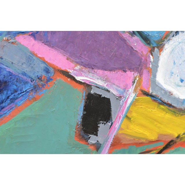 Black Sublime Modern Abstract Painting For Sale - Image 8 of 13