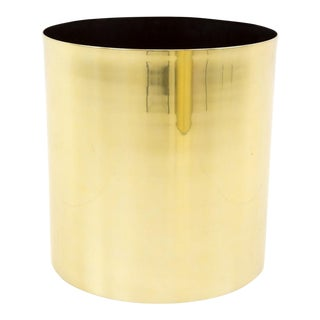 Mid Century Modern Paul Mayen for Habitat Brass Planter For Sale