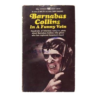 Barnabas Collins Dark Shadows Joke Book For Sale