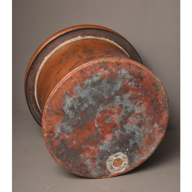 Metal Large Copper Pot, Switzerland, 1940s For Sale - Image 7 of 10