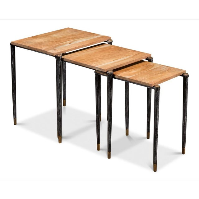 Performance Nesting Tables, Set Of 3 For Sale - Image 11 of 11