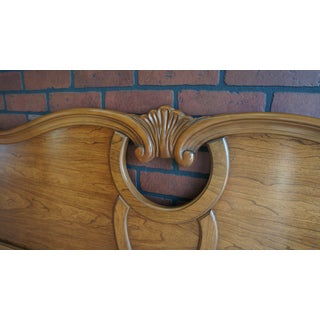 Late 20th Century Vintage French Provincial Ca King Headboard Preview