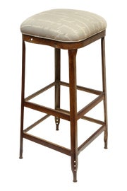 Image of Newly Made Upholstered Bar Stools