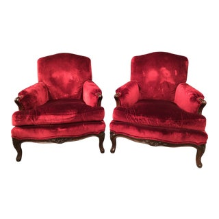 Ralph Lauren Noble Estate Club Chairs - a Pair