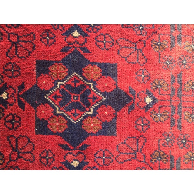 Turkaman Persian Rug - 1′10″ × 3′7″ - Image 7 of 9