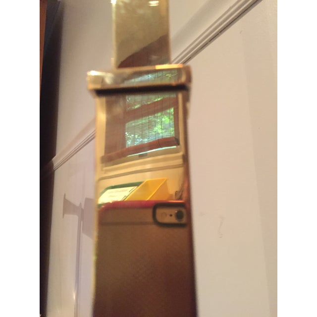 Metal 1970s Mid-Century Modern Chapman Brass Floor Lamp For Sale - Image 7 of 9