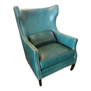 Z-Gallerie Davis Accent Wingback Chair For Sale