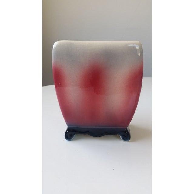Mid-Century Ceramic Dragon Vase For Sale - Image 4 of 6