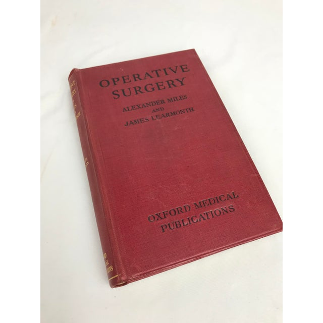 Late 19th to Early 20th Century Antique Petite Reference Library of a Surgeon - Set of 7 Books For Sale - Image 11 of 13