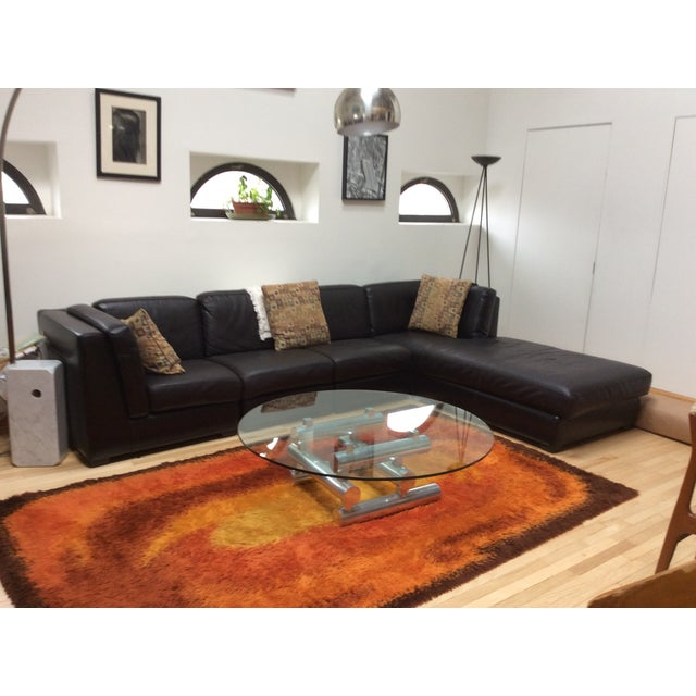Paul Mayen Style Large Chrome Coffee Table - Image 4 of 8