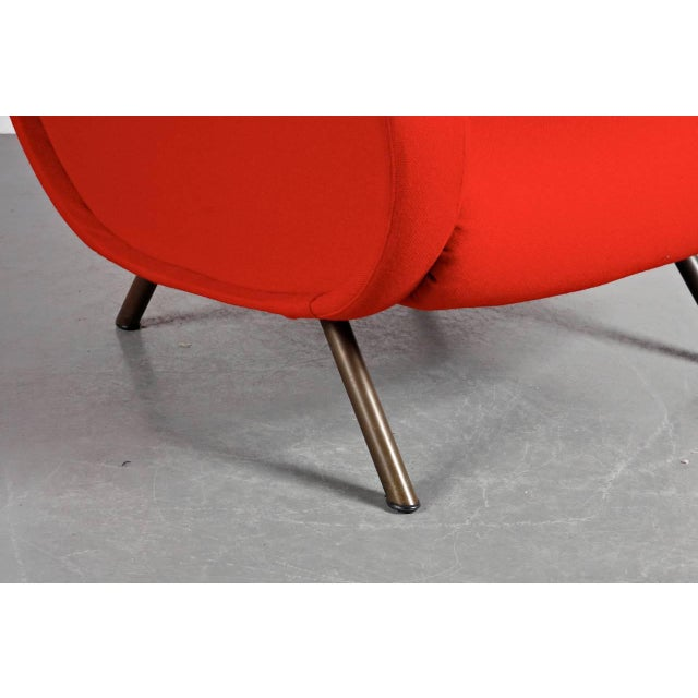 "First Edition ""Lady"" Easy Chair by Marco Zanuso for Arflex, Italy, circa 1950 - Image 9 of 9"