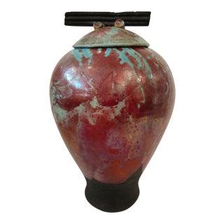 Studio Pottery Large Ginger Jar For Sale