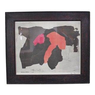 Esteban Vicente Lithograph, 1962 For Sale